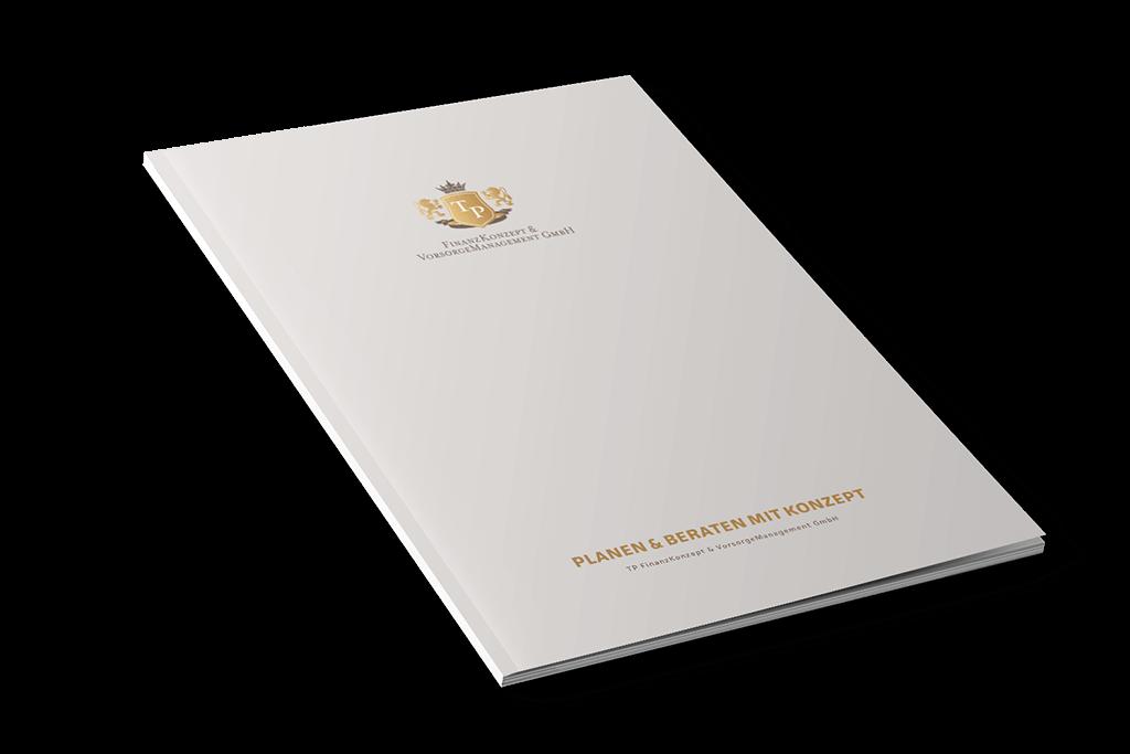Unternehmensbroschüre der TP FinanzKonzept & VorsorgeManagement GmbH